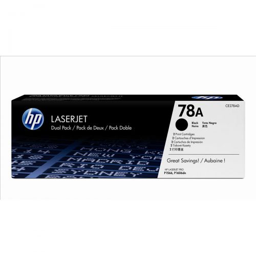 HP 78A Laser Toner Cartridge Page Life 2100pp Black Ref CE278A