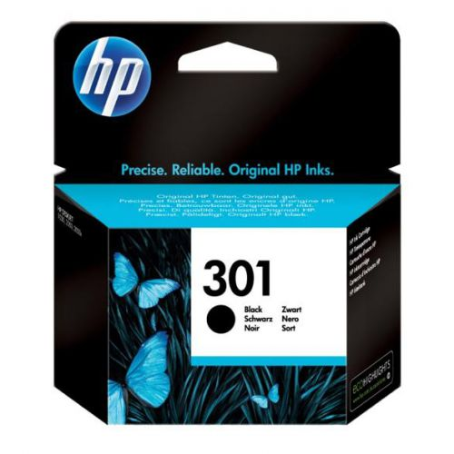 Hewlett Packard [HP] No.301 Inkjet Cartridge Page Life 190pp 3ml Black Ref CH561EE