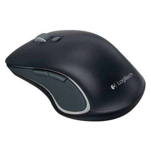 Logitech M560 Wireless Mouse Optical Bluetooth with USB Receiver 2.4GHz Both Handed Black Ref 910-001825