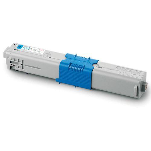 OKI Laser Toner Cartridge Page Life 2000pp Cyan Ref 44469706