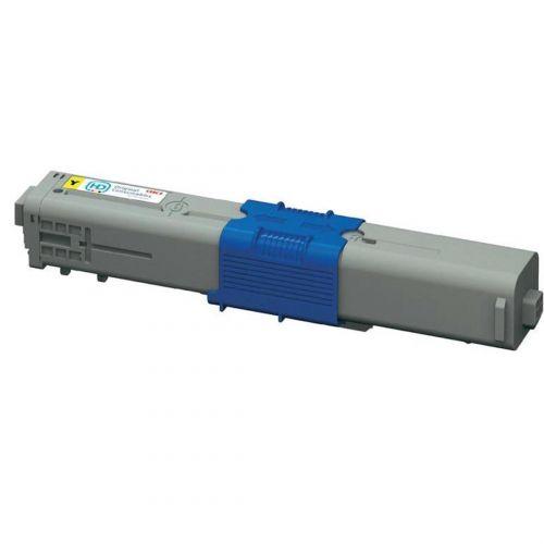 OKI Laser Toner Cartridge High Yield Page Life 5000pp Yellow Ref 44469722