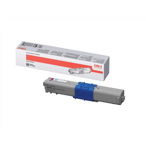 OKI Laser Toner Cartridge High Yield Page Life 5000pp Magenta Ref 44469723