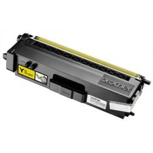 Brother Laser Toner Cartridge High Yield Page Life 3500pp Yellow Ref TN325Y