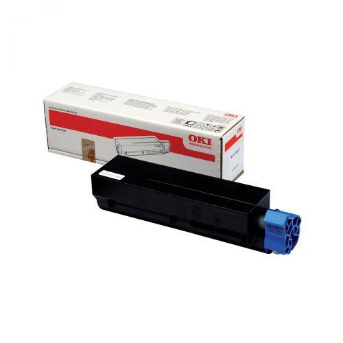 OKI Laser Toner Cartridge Page Life 3000pp Black Ref 44574702