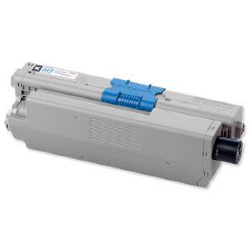 OKI Laser Toner Cartridge High Yield Page Life 5000pp Black Ref 44469804