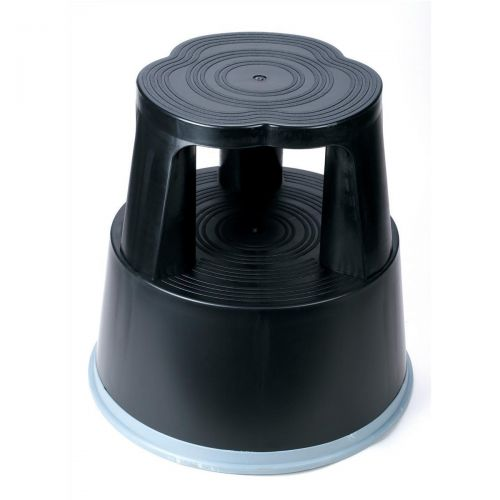 Image for 5 Star Facilities Plastic Step Stool BLK