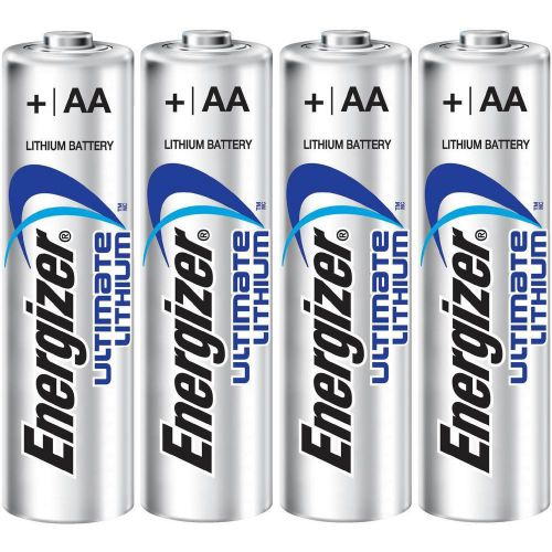 Energizer Ultimate Battery Lithium LR06 1.5V AA Ref 629611 [Pack 4]