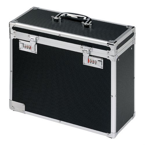 PERSONAL FILING CASE A4 BLK&CHM 67160095