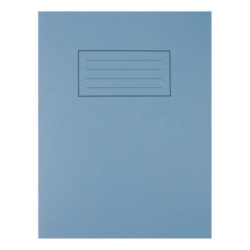 Silvine Exercise Book Ruled and Margin 80 Pages 75gsm 229x178mm Blue Ref EX104 [Pack 10]