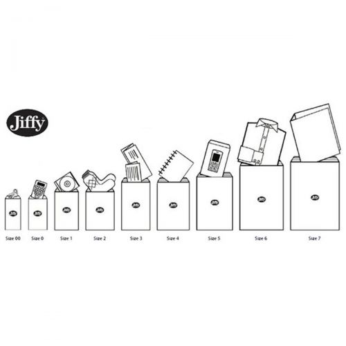 Jiffy Padded Bag Envelopes Mini Pack Size 3 195x343mm Brown Ref JPB-MP-3-10 [Pack 10]