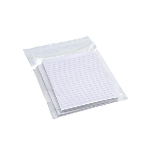 Grip Seal Polythene Bags Resealable Plain 40 Micron 150x229mm [Pack 1000]