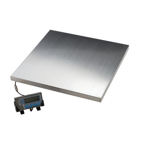 Salter Platform Scales Tare Imperial and Metric Capacity 300kg 50g Increments Silver Ref WS300-50