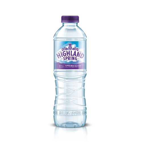 Highland Spring Water Still Bottle Plastic 500ml Ref CC22057NT [Pack 24]