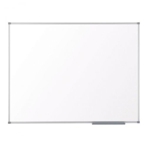 Nobo Classic Nano Drywipe Board Magnetic Steel with Fixings Slim Frame W1200xH2100mm White Ref 1902649