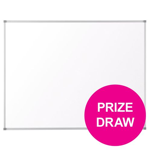 Nobo Classic Drywipe Board Magnetic with Fixings 900x1200mm Aluminium Ref 1902643