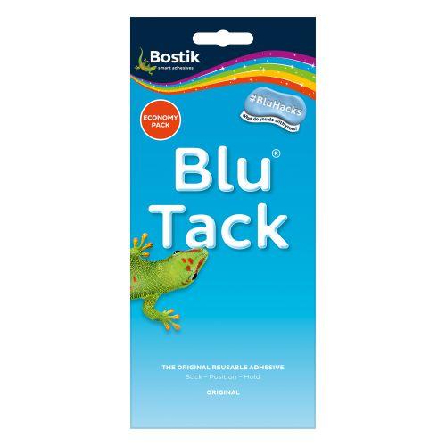 Bostik Blu-tack Mastic Adhesive Non-toxic Economy Pack Ref 80108 [Pack 12]