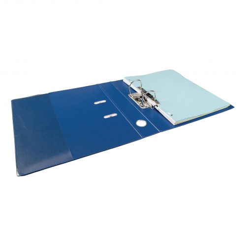 Elba Mini Lever Arch File PP 50mm Spine A4 Blue Ref 100025925 [Pack 10]