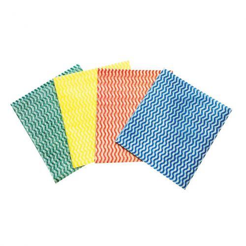 5 Star Facilities All Purpose Cloths on a Roll W230xL500mm Blue [Roll 100]