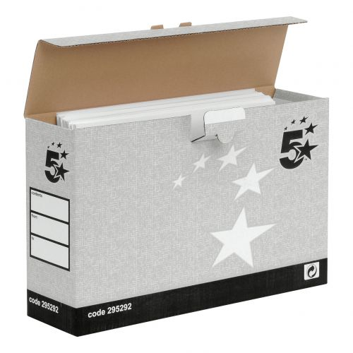 Image for 5 Star FSC Office Transfer Case Grey