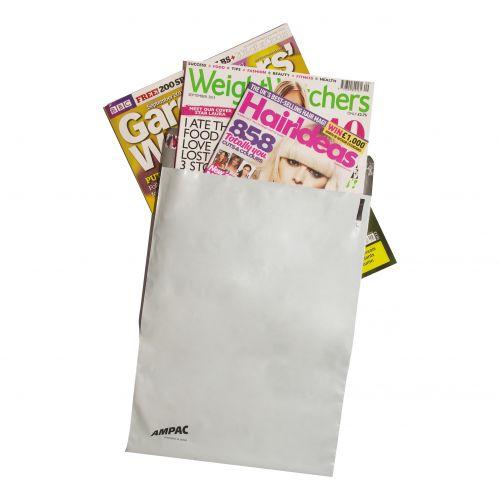 Keepsafe LightWeight Envelope Polythene Opaque DX W440xH320mm Peel & Seal Ref KSV-L4 [Pack 100]