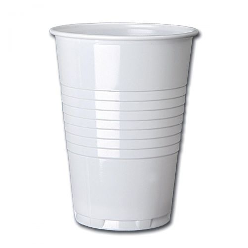Cup for Hot Drinks Plastic for Vending Machine 7oz 207ml Tall Ref 0510039 [Pack 100]