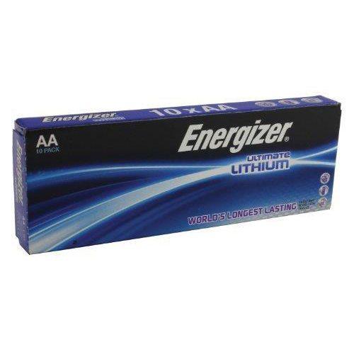 Energizer Ulti Lithium AA Battery Pk10