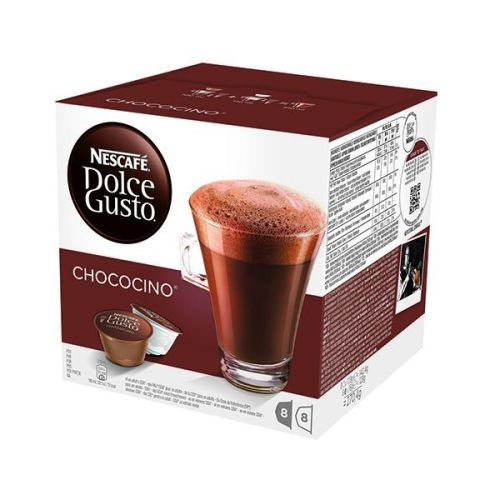 Nescafe Chococino Capsules for Dolce Gusto Machine Ref 12311711 Packed 48 (3x16 Capsules=24 Drinks)