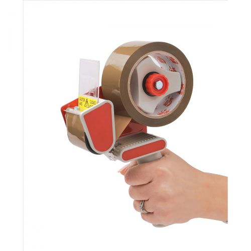 5 Star Office Carton Sealer Hand-held with Non-reversing Plate with Adjustable Brake for 50mm Tape
