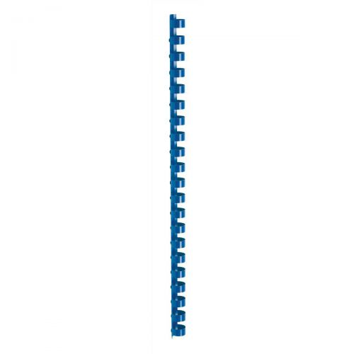 5 Star Office Binding Combs Plastic 21 Ring 95 Sheets A4 12mm Blue [Pack 100]
