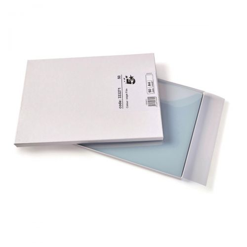 5 Star Office OHP Inkjet Film 125 Micron A4 Clear [Pack 50]