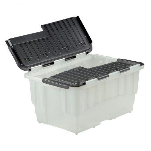 Strata Storage Box Duracrate Crate Plastic 40 Litre W570xH390xH290mm Black Ref HW390BLK [Pack 5]