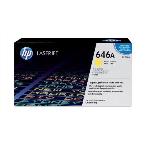 HP 646A Yellow LaserJet Toner CF032A