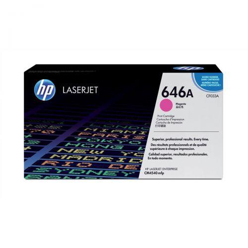 HP 646A Magenta LaserJet Toner CF033A