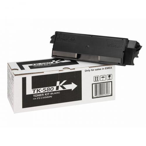 Kyocera TK-580K Black Toner 1T02KT0NL0