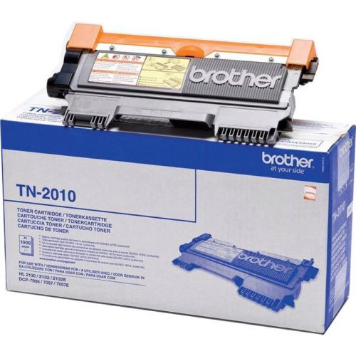 Brother Laser Toner Cartridge Page Life 1000pp Black Ref TN2010
