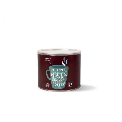 Clipper Organic Medium Roast Coffee 500g