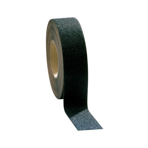COBA Grip-Foot Tape Anti-slip Grit Surface Hard-wearing W102mmxL18.3m Black Mat Ref GF010003