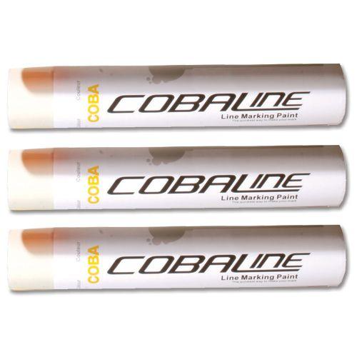 Cobaline Marking Spray CFC-free Fast-dry 750ml White Ref QLL00013P [Pack 6]
