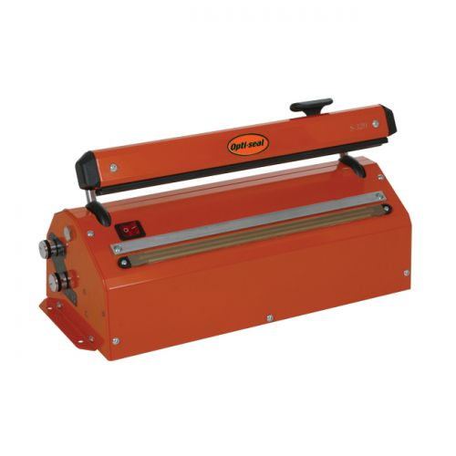 Optimax Opti-Seal Industrial Heat Sealing Machine Heavy Duty Electric Sealer Width 420mm Ref S420