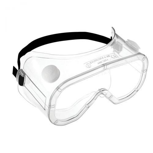 JSP Martcare Anti-Mist Dust Liquid Goggles Polycarbonate Lens Square Ref AGC021-201-300