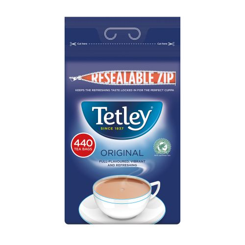 TETLEY 1CUP TEA BAG PK440 1054J