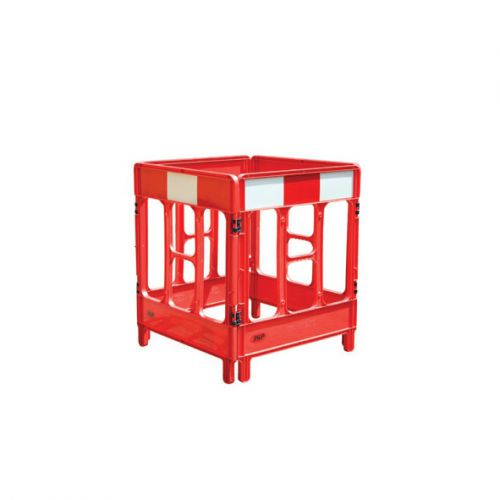 Workgate 4 Gate Barrier System Lightweight Linking-clip Reflective Panel Red Ref KBC023-000-600