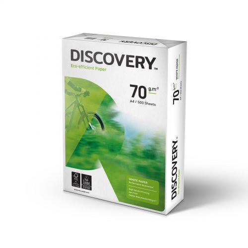 Discovery Everyday Paper FSC 5x Ream-wrapped Pks 70gsm A4 White Ref NDI0700025 [5x500 Sheets]