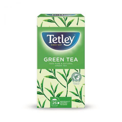 Tetley Individually Enveloped Tea Bags Pure Green Tea Ref 1293A [Pack 25]