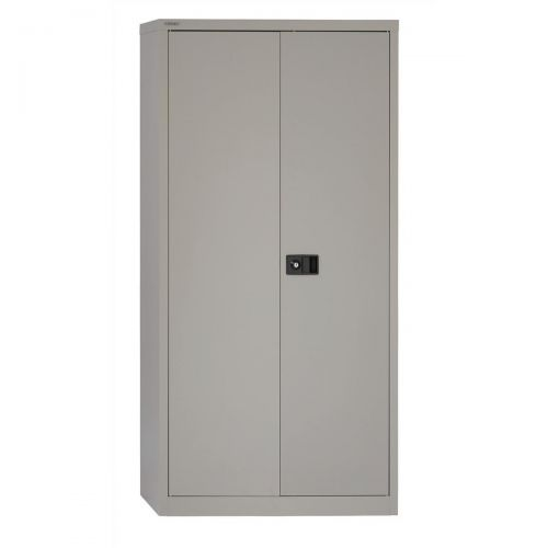 &TREXUS CUPBOARD 72IN GREY 2 DOOR