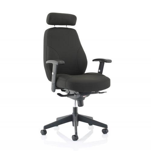 Sonix Energize Driver Chair Black 520x480x500-640mm Ref 11185-01Black