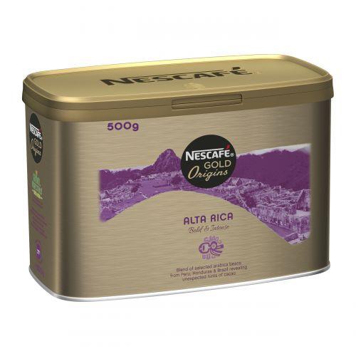 Nescafe Alta Rica Instant Coffee Tin 500g Ref 12284227
