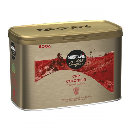 Nescafe Cap Colombie Instant Coffee Tin 500g Ref 12284223