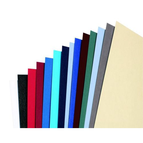 GBC Antelope Binding Covers Leather-look Plain A4 White Ref CE040070 [Pack 100]