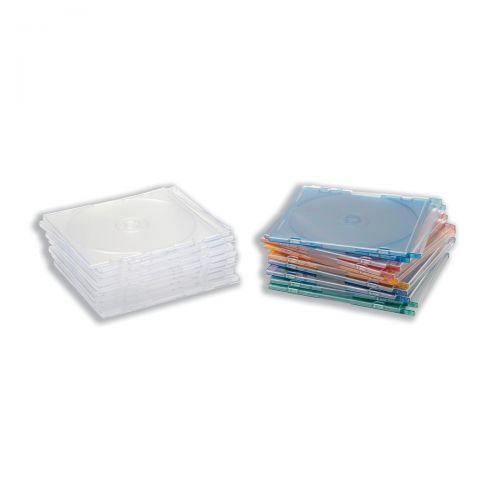 CD Slimline Jewel Case Clear [Pack 10]